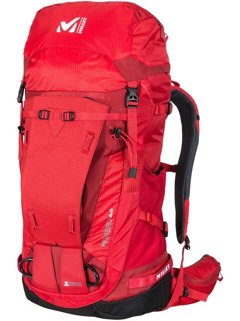 Millet Peuterey Integrale 45+10 Backpack Unisex, red